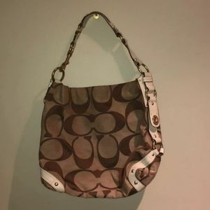Carly Coach Hobo Purse